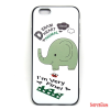 CELLECT design tok,iPhone 7/8, Elefánt
