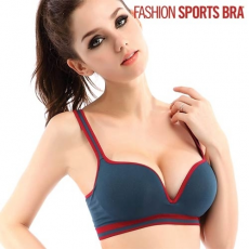 FIT X SLIM Divatos Sportmelltartó Fashion Sports Bra, Rózsaszín