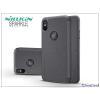 Nillkin Apple iPhone X oldalra nyíló flipes tok - Nillkin Sparkle - fekete