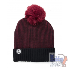 FOX Burgundy Black Bobble sapka - CPR763