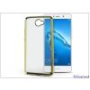 Haffner Huawei Y7/ Y7 Prime szilikon hátlap - Jelly Electro - gold