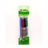 FLEXOFFICE Tűfilc készlet, 0,3 mm, FLEXOFFICE FL01, 4 különböző szín (FOFL01V4)