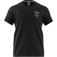 férfi póló adidas Manchester United - fekete