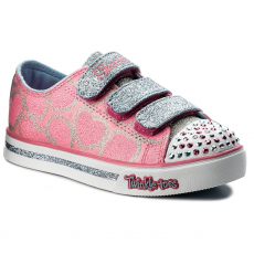 Skechers Félcipő SKECHERS - Heartsy Glam 10709L/PKLB Pink/Light Blue
