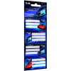 LizzyCard Füzetcímke 12 db-os Super Racecar Mix 17514203