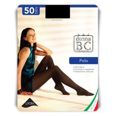 Calze B. C. Polo 50den színes harisnyanadrág 5db/csomag