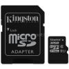Kingston MicroSDHC 32GB CLASS 10 UHS-I Industrial Temp + Memóriakártya Adapter (SDCIT/32GB)
