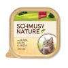 Schmusy Nature csirke és lazac - alutálca 24x100g