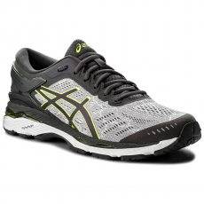 Asics Cipő ASICS - Gel-Kayano 24 Lite-Show T8A4N Mid Grey/Dark Grey/Safety Yellow 9695