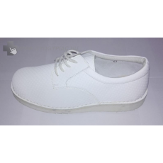 ,Egyéb gyógylábbeli, Fűzős férfi kényelmi cipő 39-46 bőr talpbetéttel