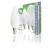 HQ E14 gyertya LED izzó 5,9W meleg fehér (3db)