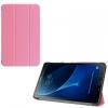 Samsung Galaxy Tab A 10.1 (2016) SM-T580 / T585, mappa tok, Trifold, rózsaszín