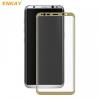 Samsung Galaxy S8 Plus SM-G955, Kijelzővédő fólia, ütésálló fólia (az íves részre is!), Tempered Glass (edzett üveg), Enkay, arany