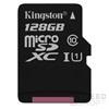 Kingston Canvas Select microSDXC 128GB (Class 10), UHS-I memóriakártya adapterrel (SDCS/128GB)