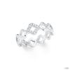 S.Oliver ékszer Női gyűrű ezüst cirkónia Blume 202103 58 (18.4 mm Ă?)