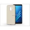 Samsung A530F Galaxy A8 (2018) szilikon hátlap - Jelly Flash Mat - gold