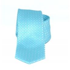 Goldenland slim nyakkendõ - Tûkízkék mintás