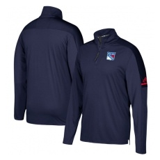 Adidas New York Rangers FĂŠrfi pulóver Authentic Pro Quarter-Zip Jacket - DětskĂŠ XL (13 - 15 let)