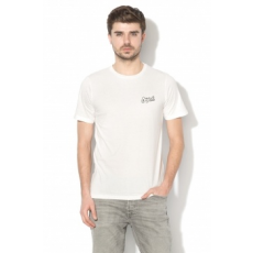 Jack Jones Jack&Jones, Five slim fit póló, Fehér, S (12131963-CLOUD-DANCER-S)