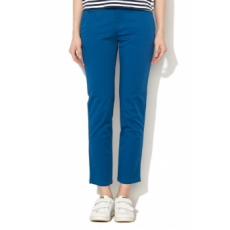 United Colors of Benetton , Crop chino nadrág, Kék, 38 (4BYW555K3-07V-38)