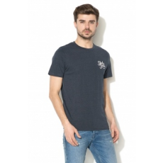 Jack Jones Jack&Jones, Galions slim fit póló, Tengerészkék, XL (12135965-TOTAL-ECLIPSE-XL)