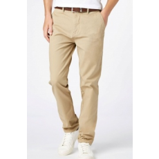 Next , Slim fit chino nadrág övvel, Bézs, 38XL (166131-BEIGE-38XL)