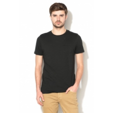 Jack Jones Jack&Jones, Wade slim fit póló, Fekete, L (12133861-BLACK-L)