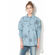 Only , Kate absztrakt mintás farmering, Égszínkék, 34 (15148622-LIGHT-BLUE-DENIM-34)