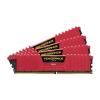 Corsair DDR4 32GB PC 2400 CL14 CORSAIR KIT (4x8GB) Vengeance Red  CMK32GX4M4A2400C14R