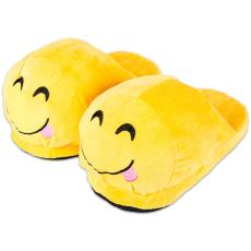 HappyFace: nyelvnyújtós emoji papucs - gyerek méret