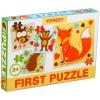 Első puzzle-m: erdei állatok