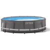 Intex 26324GN ULTRA FRAME Medence homokszűrős vízforgatóval 4,88 x 1,22