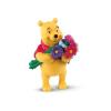 Bullyland Micimackó virágokkal játékfigura