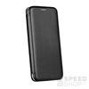 Forcell Elegance oldalra nyíló hátlap tok Huawei Mate 10 Pro, fekete