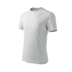 ADLER Classic gyerek trikó, fehér, 160g/m2