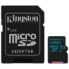 Kingston Card MICRO SD Kingston 128GB Canvas Go! UHS-I U3 CL10 adapter nélkül