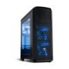 Spirit of Gamer REVOLUTION 2 Blue (fekete, ablakos, 3x12cm ventilátor, ATX, mATX, 2xUSB3.0,...