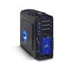 Spirit of Gamer X FIGHTER 51 Blue (fekete, 4x12cm és 1x14cm ventilátor, ATX,mATX 2xUSB3.0,...
