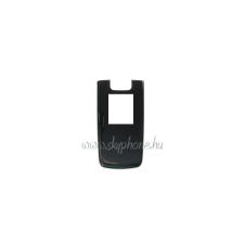 6600 fold előlap fekete (swap) mobiltelefon előlap