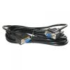 7593-PS-5 VGA hosszabbító kábel 5m árnyékolt fekete