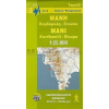 8.12 - Mani: Kardhamili - Stoupa turistatérkép - Anavasi