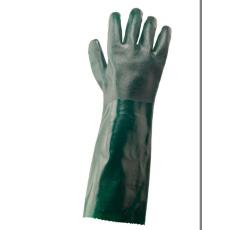 A845 - Duplán mártott PVC védőkesztyű - zöld