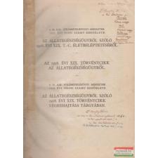 A m. kir. földmívelésügyi miniszter 1932. évi 99 000. és 100 000. számú rendelete társadalom- és humántudomány