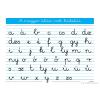 A magyar ABC írott kisbetűi