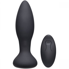 A-Play Rimmer Experienced Vibrating And Rotating Butt Plug - Black anál