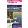A Velencei-tó és térsége 1 : 50 000 - Turistatérkép