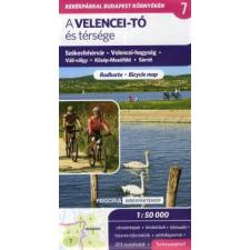 A Velencei-tó és térsége 1 : 50 000 - Turistatérkép térkép