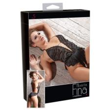 Abierta Fina - Fénylő fodrok - body (XL) body