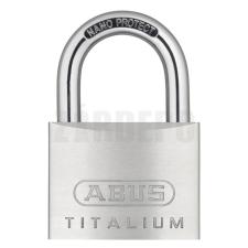 Abus 727/60 KA TITALIUM Egyforma kulcsos lakat lakat
