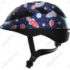 Abus Smooty 2.0 gyerek kerékpáros bukósisak kék űrhajós M 50-55cm